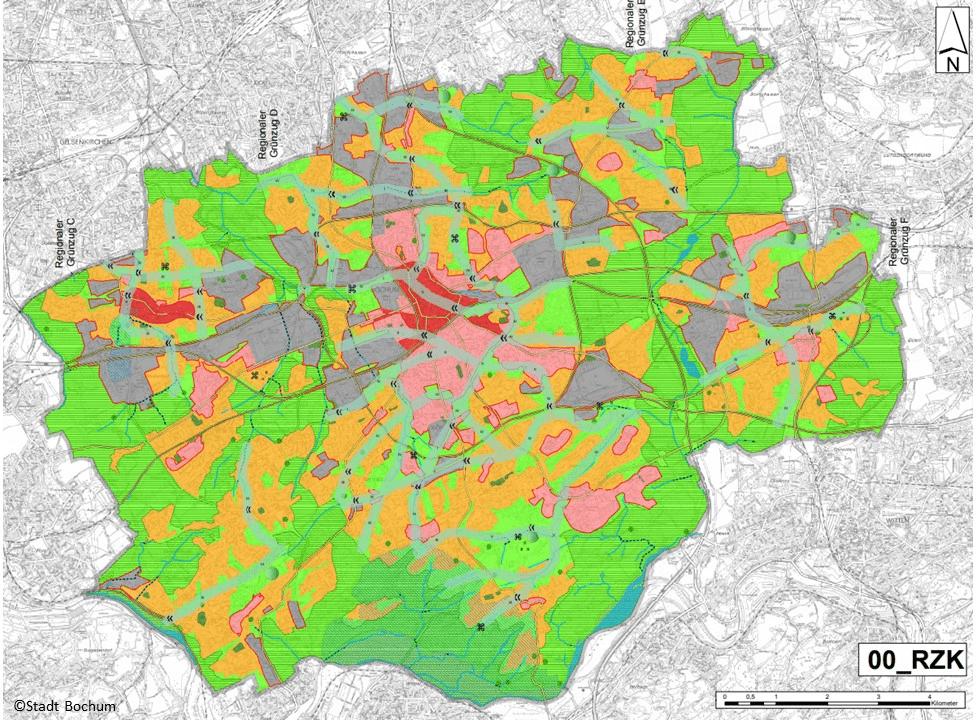 Prozessautomatisierte Geodatenanalyse und Visualisierung mit ArcGIS und QGIS