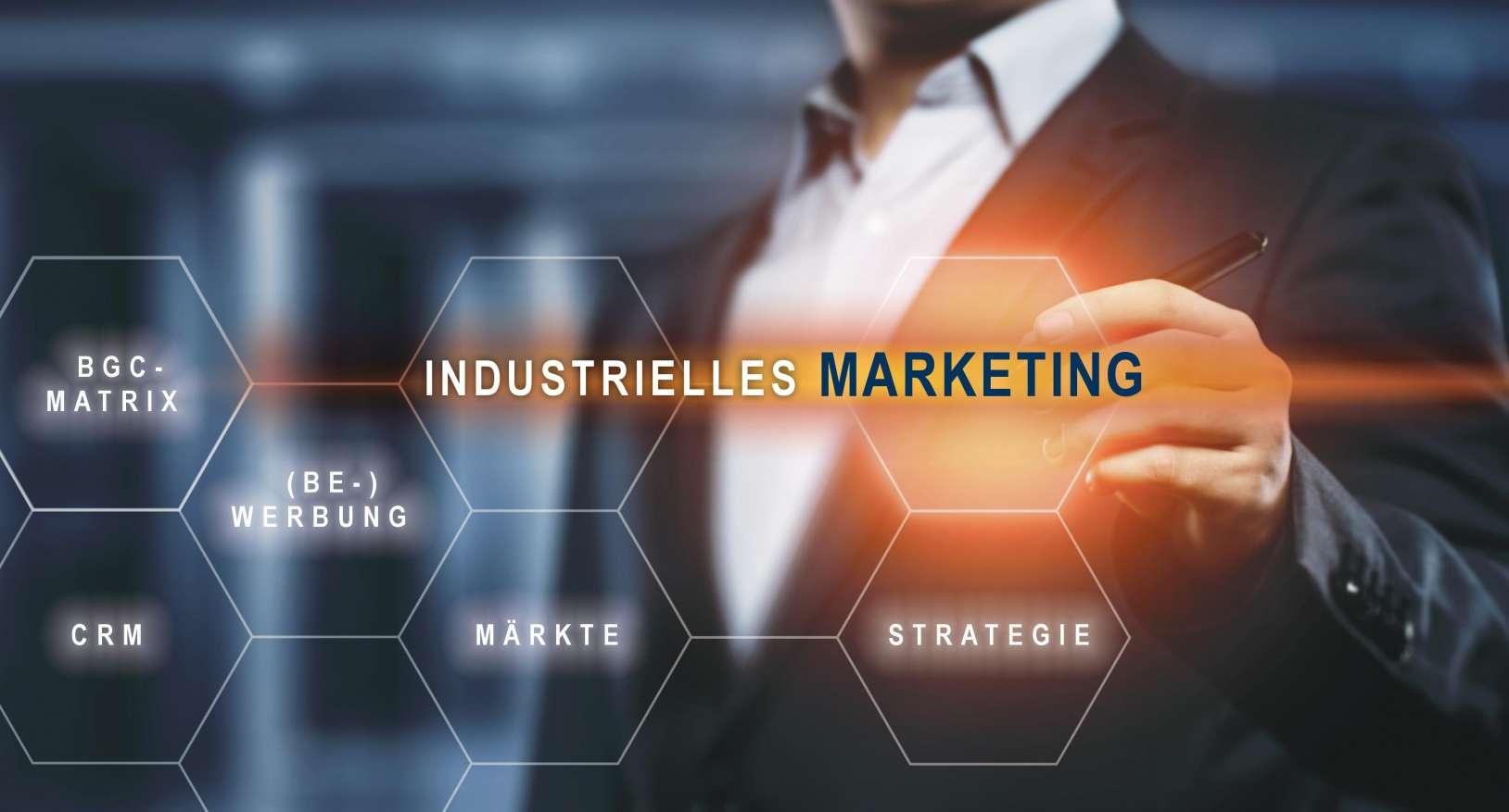 Mit Hilfe des Industriellen Marketing Produkte richtig positionieren, Kunden adressieren und Erfolge erzielen